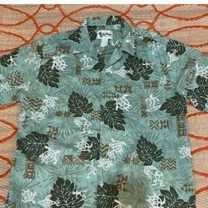 Vintage 80'S HOWIE L Hawaiian Aloha Shirt Multico